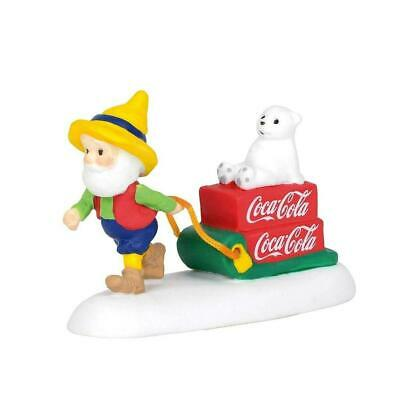 Department 56 Coca Cola Special Delivery - North Pole 6003122 FREE SHIPPING