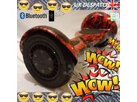 8.5 INCH - SUPERHYPE SCOOTER/ HOVERBOARD BLUETOOTH LED UK