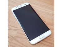 Samsung S7 Edge - Pearl White. Immaculate condition , Brand new accessories still in box
