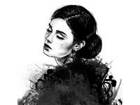 DIGITAL portrait, illustration - commission, personalised. AMAZING gift idea! by Graphic Designer