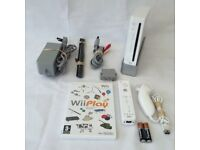 Nintendo wii complete with remote control and all accessories plus game
