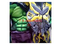 boys 7-8 hulk and bumblebee fancy dress
