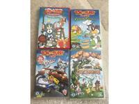 Four children's DVDS