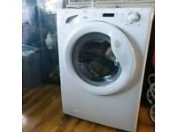 Candy washing machine white