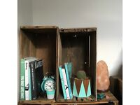 WANTED vintage wooden crates