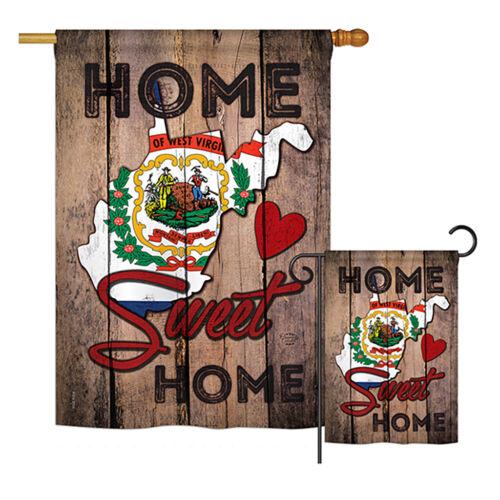 State West Virginia Home Sweet - Americana States Garden Yar