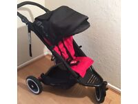 phil and teds dot single stroller