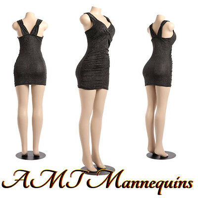 Female sexy mannequin full-body, +plastic stand,display manikin-B27-PickUP