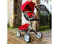 Stokke Xplory with extras, VGC, serviced and valeted.