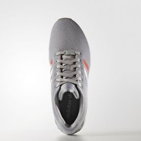 Brand New in Box Adidas original ZX Flux Torsion Running Shoes Men's Grey Tri-color