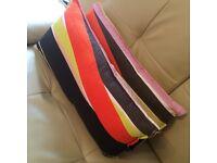 2x Elongated Cushions