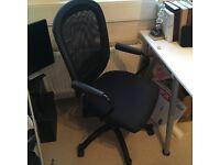VILGOT/NOMINELL Swivel Easy Chair- black