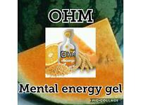 OHM MENTAL ENERGY GEL BY AGEL 30PACK