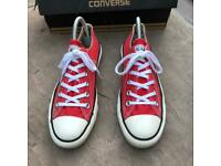 Converse all star trainers size 5