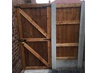 Front gates side gates wooden gates