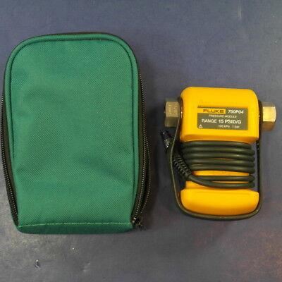 Fluke 750P04 Pressure Module, Excellent, Green Case