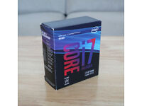 Intel Core i7-8700K Processor - 6 Cores, 3.7GHz, Unlocked LGA1155 Gaming CPU