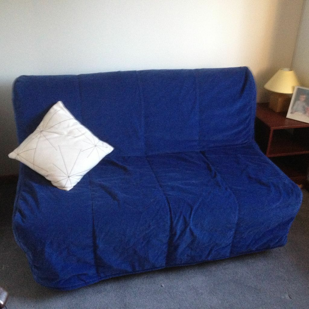 IKEA LYCKSELE LOVAS 2 Seater Sofa Bed Bed Settee With