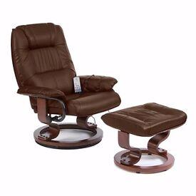 Napoli 360 Swivel Heated Massage Recliner Chair