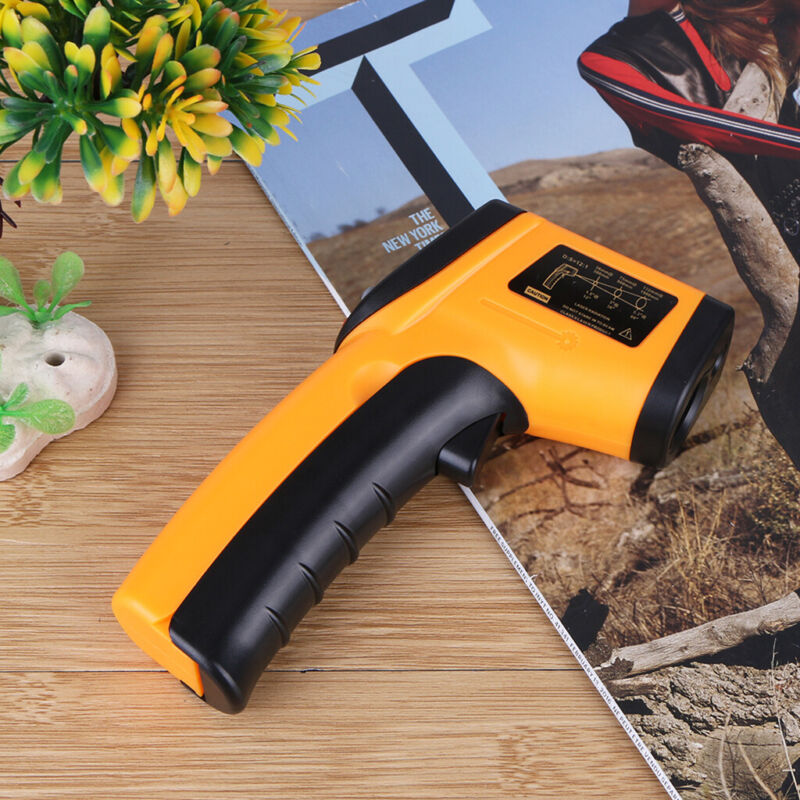 Non-Contact LCD IR Laser Infrared Digital Temperature Thermometer Gun Pyrometer