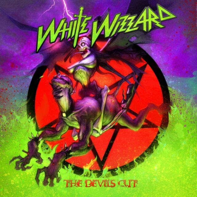 """White Wizzard """"The Devils Cut"""" CD - NEW & SEALED"""