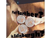 Flat Earthers in Edinburgh?