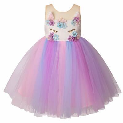 Tutu Dress Costume (Girls Unicorn Costume, Tutu Dress for Party)