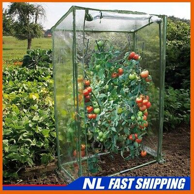 Tomato Greenhouse Reinforced Frame & Cover Garden Outdoor Grow Plant Green House