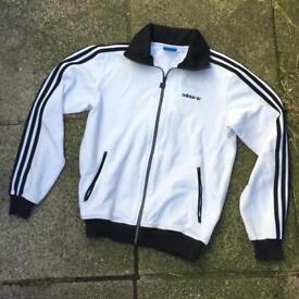 Adidas beckenbauer jacket size small