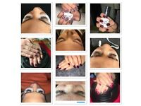 Eyelash extensions and Gel Nails