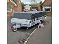Pennine Quartz 6 Six Berth folding camper, Like New