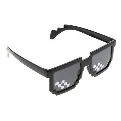 Novelty Funny Party Sunglasses Eye Glasses Mosaic Photo Props for Adult (Novelty Sunglasses For Adults)