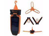 Spark LED Technology Folding Clover Solar Led 100 Lumen Camping Lantern RRP £29