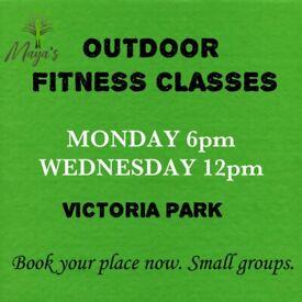 Outdoor Fitness Classes Victoria Park