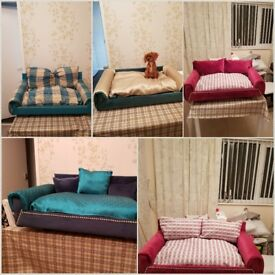 Hand made dog bed