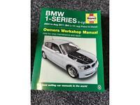 BMW 1 Series Manual 04-11 Reg
