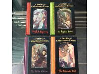 A series of Unfortunate Events - Lemony Snicket 1-4