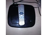 Black DVD player Tested and working