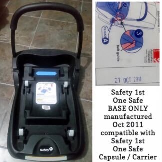 Safety 1st One Safe BASE ONLY - for your other car