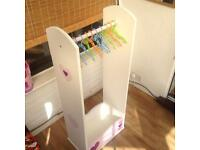 Girls dress up stand/rail