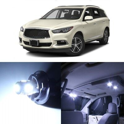 15 x White LED Interior Light Package For 2013 - 2019 Infiniti JX35 QX60 + TOOL (Led Infinity)