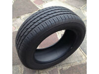 Mercedes-Benz Radial Tubeless Tyre - 205/55R16 Yokohama Advan Sport MO [Useful As Spare] 5mm + Tread