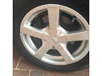 TRANSIT CONNECT ALLOY WHEELS / TYRES 15 INCH 5 X 108