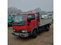 Nissan Cabstar 34.10 3.0 diesel single wheel truck