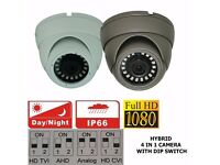 CCTV WHOLE SELLER DOME 1080P 4IN1 TVI / AHD / CVI / CVBS 2.4MP SONY IMX 323 CHIPSET LONDON