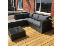 As new suite of garden furniture