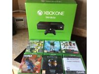 Xbox One (Boxed) with 6 Games