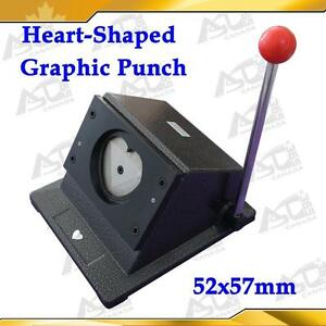 ALL Metal Multi Sheets Graphic Punch Die Cutter Pro Button Maker Paper DIY ROUND HEART OVAL RECTANGLE