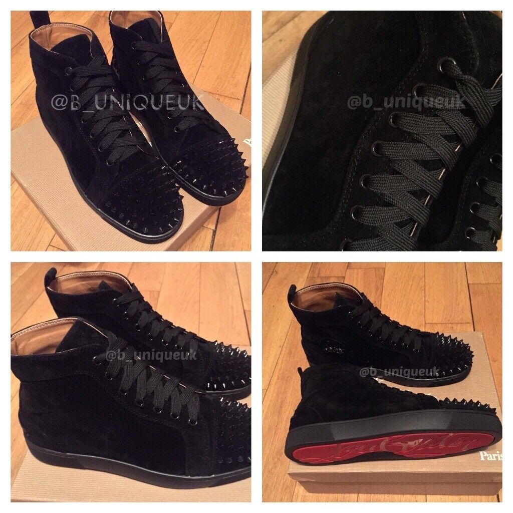 bcd605c80c5 Christian Louboutin Toe Cap Spikes Studs Trainers Shoes Men's Women's Boys  Girls Loubs Various Size | in Stratford, London | Gumtree