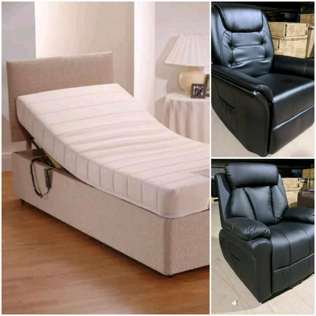 MOBILITY beds and rise and tilt electric recliner chairs delivery 07808222995